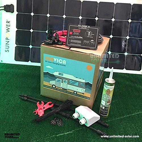 Unlimited Solar SUNVICA 200 Watt Flexible RV Solar Charging System