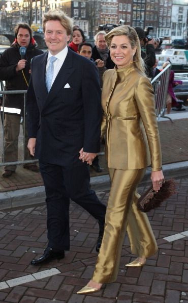 Crown Prince Willem Alexander And Crown Princess Maxima Attend The... News Photo 158104730