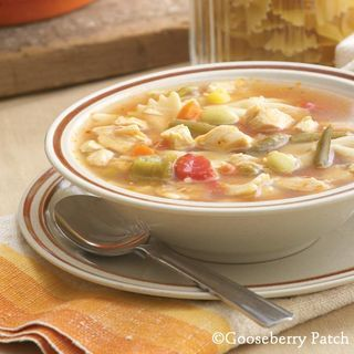 Chicken Noodle Gumbo | Top 10 dinners that make the best leftover lunches from Gooseberry Patch
