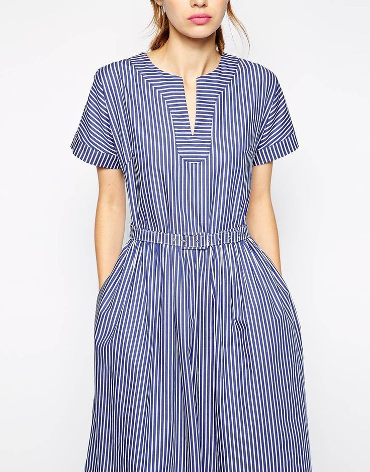 antipodium tulum dress in candy stripe at asos com kleider