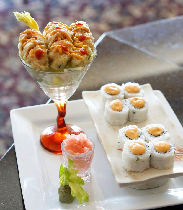 Savory Sushi Is The Specialty At Cl Asia In Daleville Restaurant Reviews Pinterest