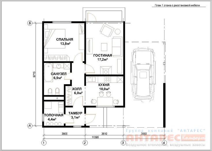 планировка комнат частного дома размеры - Поиск в Google