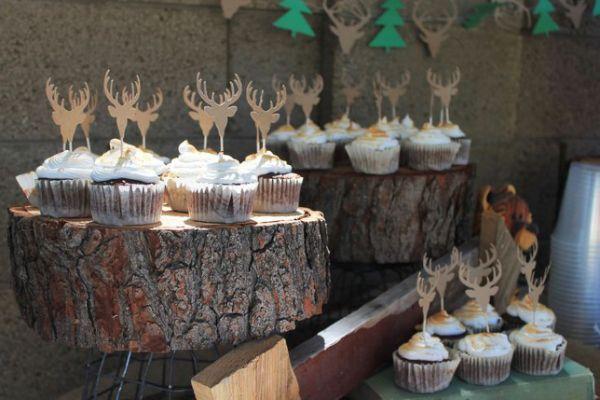 camping/ hunting birthday party