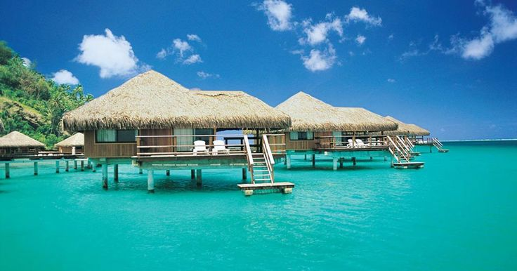 You might not be flush with cash, but that doesn't mean you have to give up on the overwater-bungalow fantasy, because who hasn't dreamt of sleeping in a cabana over shimmering water with fish cruising below?   Though these water-world hotels often charge a sky-high nightly rate that can hit four