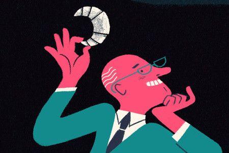 Illustratie: Esther Aarts Bij deze denktanks bestellen grote bedrijven hun argumenten voor TTIP
