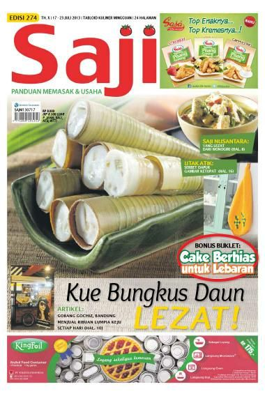 Saji / ED 274 2013. Beli edisi ini dalam format e-magazine, klik http://www.getscoop.com/majalah/saji-ed-274-2013
