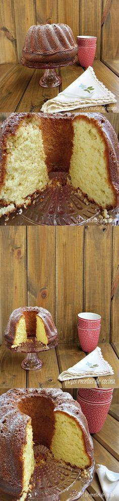 Pecados de Reposteria Bizcocho de queso y limón - Pecados de Reposteria