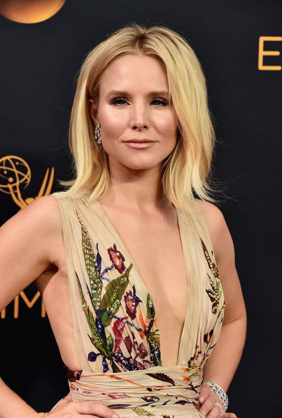 Kristen Bell attends the 68th Annual Primetime Emmy Awards at the Microsoft Theater in Los Angeles, California