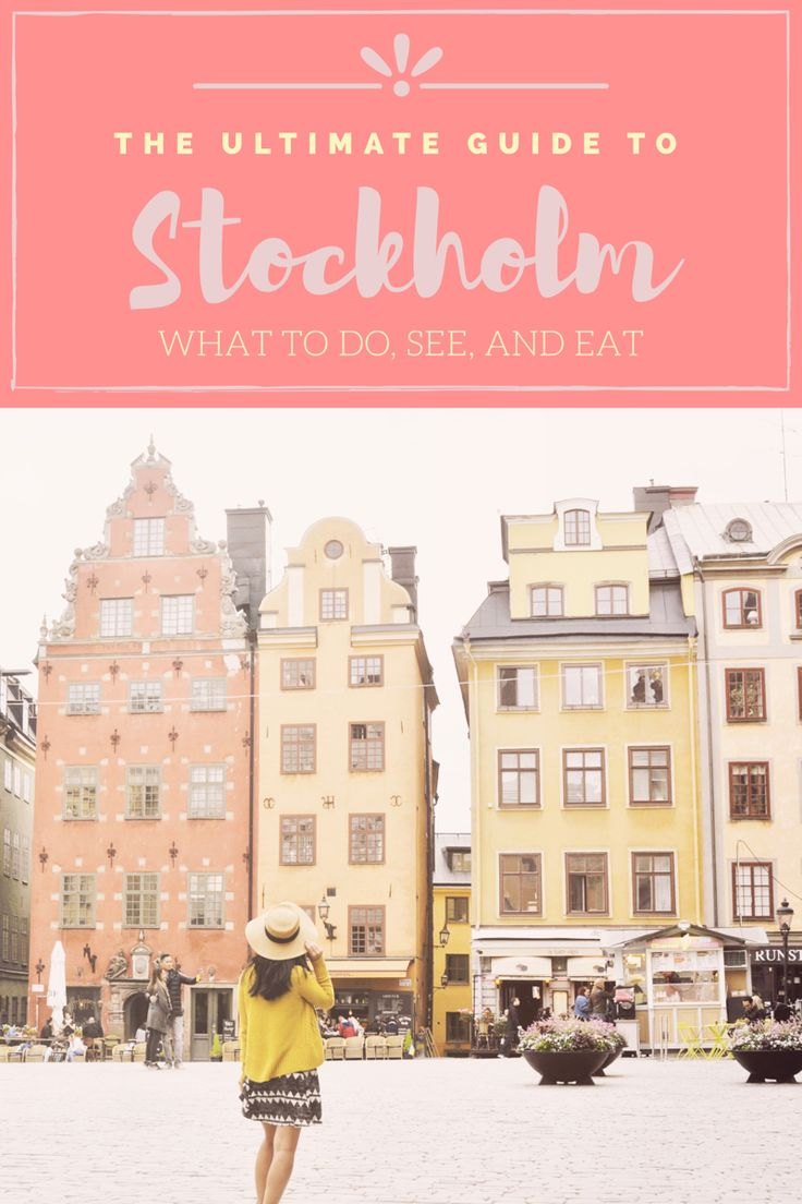 Stockholm City Guide: what to do, see, and eat