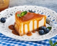 Cheesecake au caramel et beurre salé au Cookeo : http://www.cuisineaz.com/recettes/cheesecake-au-caramel-et-beurre-sale-au-cookeo-79503.aspx