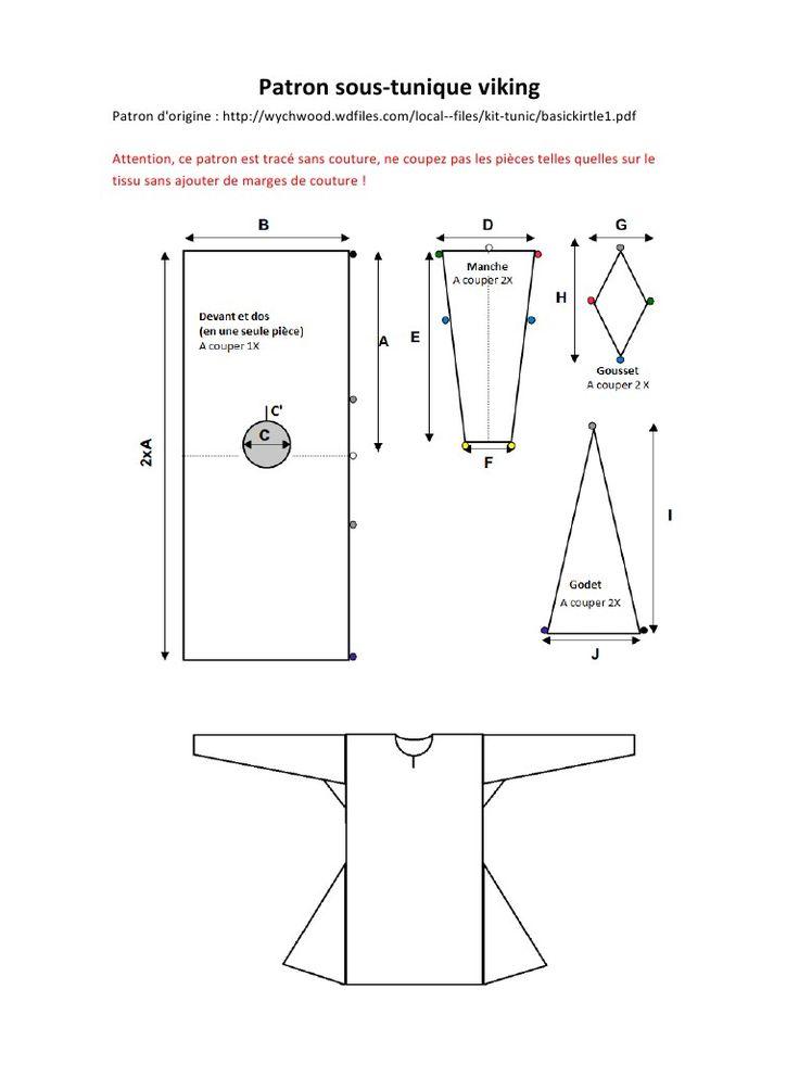 pattern viking tunic