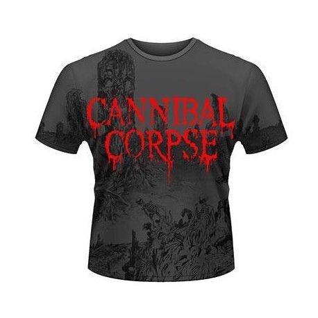 Tricou allover Cannibal Corpse: A Skeletal Domain