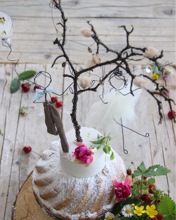 Country chic wedding cake topper My little poems for you