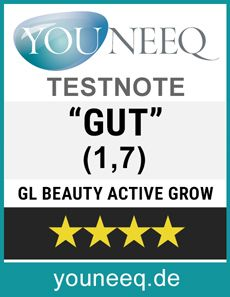 GL Active Grow Wimpernserum Test Siegel