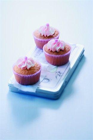 Cupcakes au litchi - Larousse Cuisine