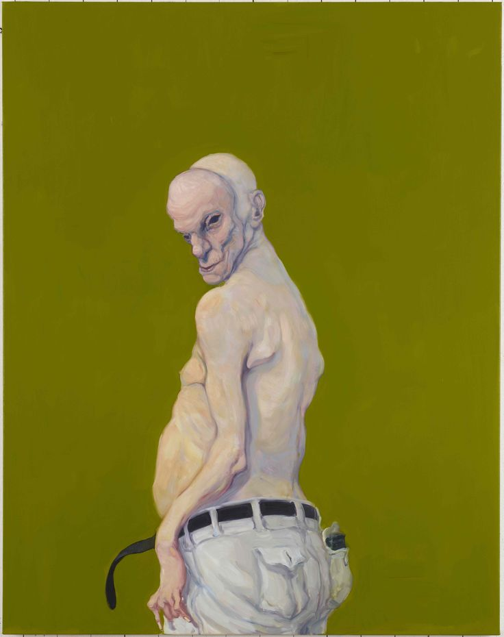 Michael Kvium, Pale Profile I, 2013, Oil on canvas, 165 x 130 cm
