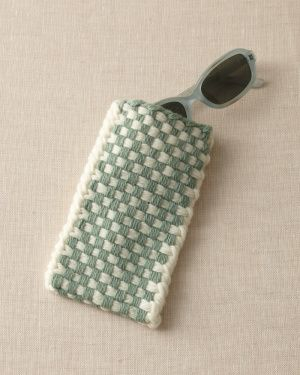 Loom Woven Checked Eyeglass Case: Free Patterns, Loom Patterns