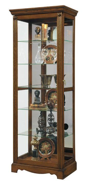 Curio Cabinet in Berwick Brown - CLOSEOUT | Pulaski | Home Gallery Stores