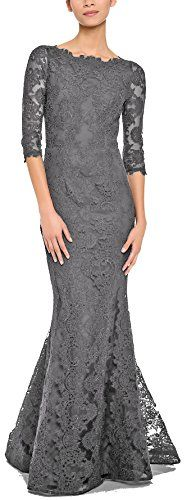 Rongstore Women's Half Sleeve Lace Mother of the Bride Dress Formal Evening Gowns Grey US8 Rong store http://www.amazon.com/dp/B01CZX2S8Q/ref=cm_sw_r_pi_dp_fotexb08Y7XSP