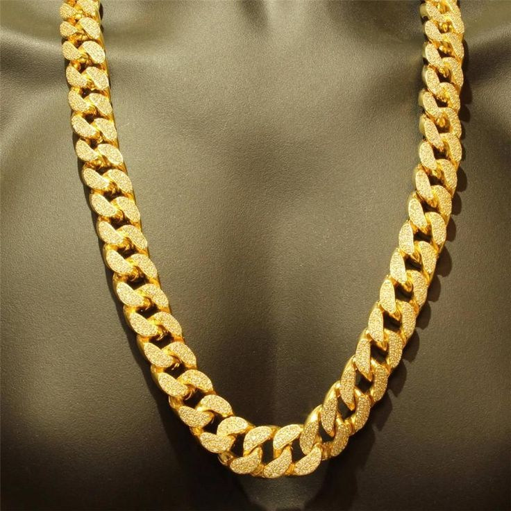 Gallery of: High Quality of Mens Gold Chain Necklace Ideas