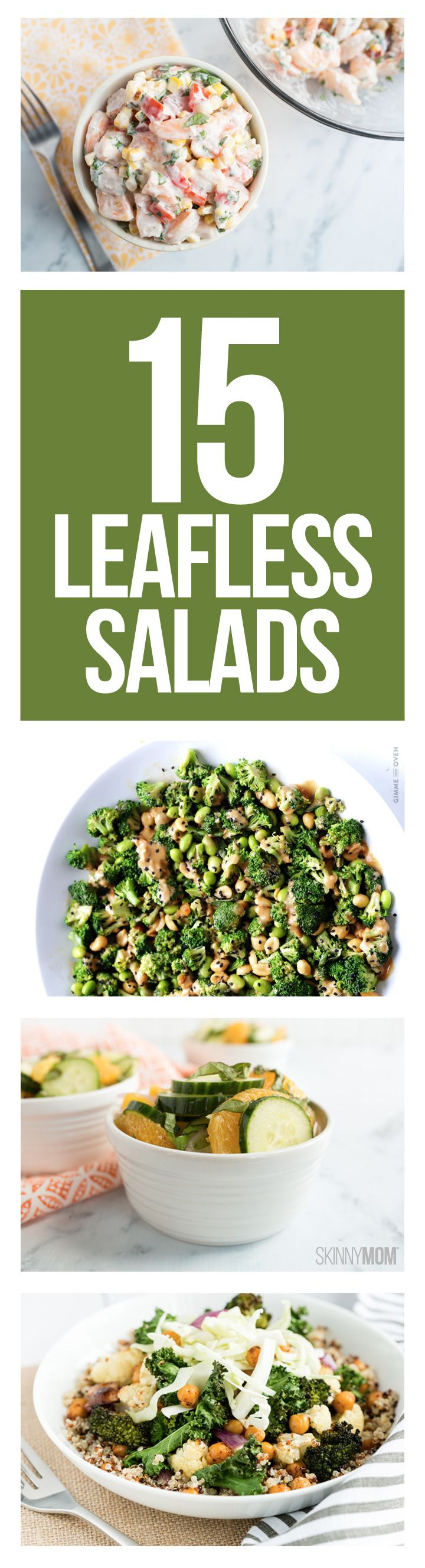 No-lettuce salads to enjoy every day!
