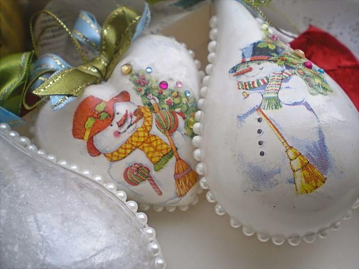 У Ольги: новогодний декор
