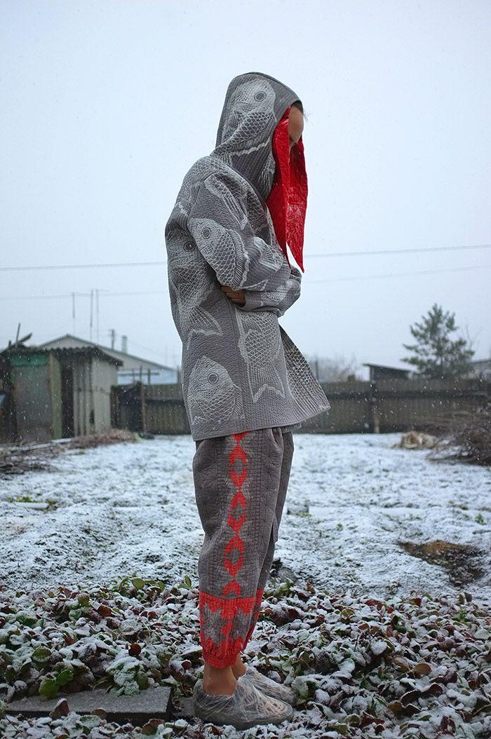 Masha Lamzina: Patchwork Silk Pants