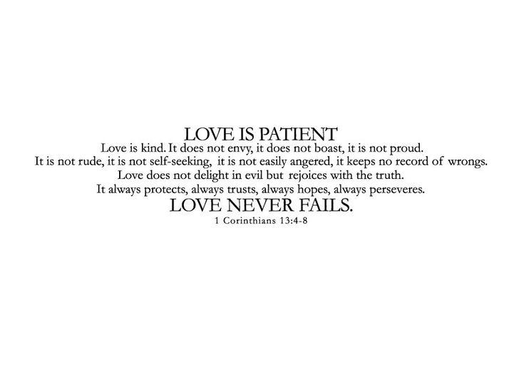 Wedding Reading Love Is Patient: Best 25+ Love Is Patient Ideas On Pinterest