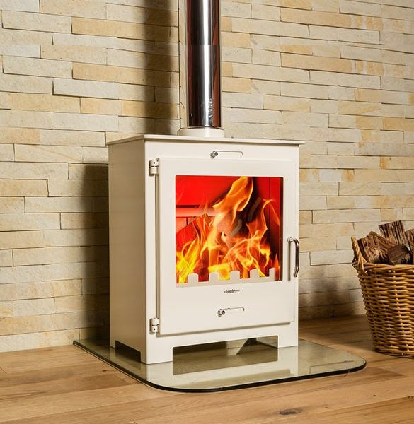 Although crafted from hardy and high quality steel, this powerful fireplace looks spectacularly sophisticated in a modern and fresh medium to large space. A powerful model that is both effective and efficient on wood, it will heat your home quickly and with little exertion. With the option for either a top exit flue straight up
