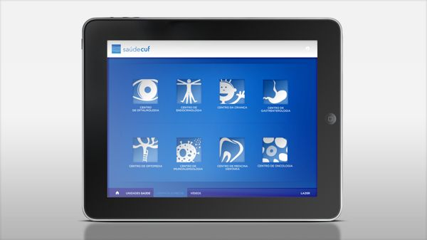CUF iPad App by Ana Carvalho, via Behance