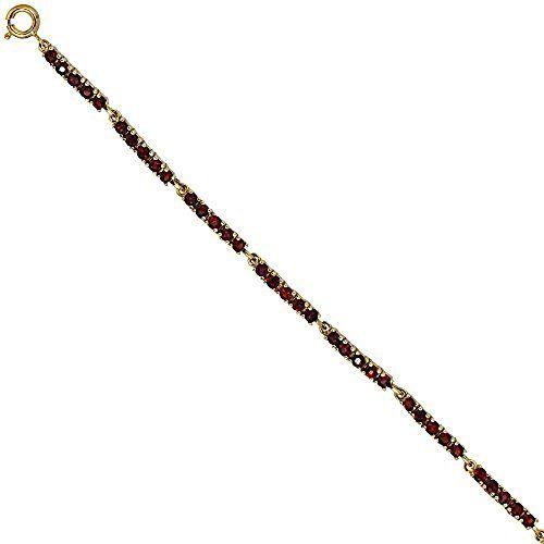 Dreambase Damen-Armband 50 Granate 9 Karat (375) Gelbgold... https://www.amazon.de/dp/B00EYGQ34I/?m=A37R2BYHN7XPNV