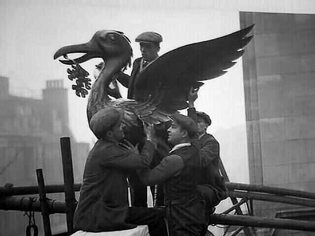 Beryl early days. Liverpool Liverbird rising.