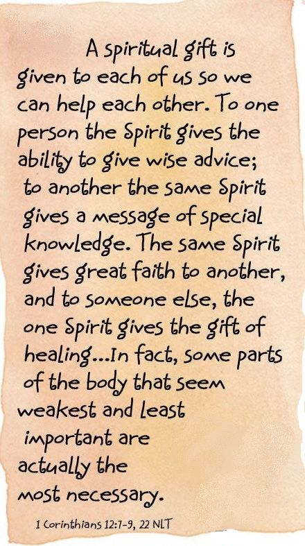 41 best spiritual gifts via the holy spirit images on pinterest the spiritual bodychurch of christ spiritual gifts via the holy spirit are bestowed negle Image collections