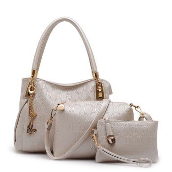 Moda PU Cuero y de la metálicos Colgante Diseño Las mujeres del bolso de hombro para Vender - La Tienda En Online IGOGO.ES