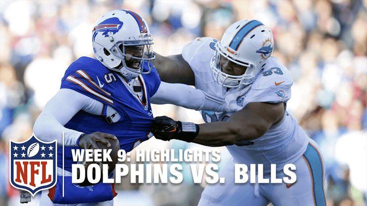 Dolphins vs. Bills   Week 9 Highlights   NFL