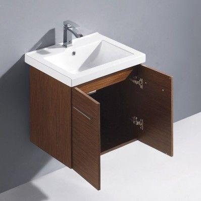 """Amber 24"""" Modern Single Bathroom Vanity by Vigo   Discount Bathroom Vanities"""