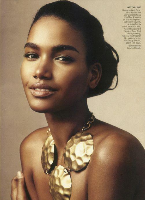 Arlenis Sosa, modelo afrodominicana, Lancome spokesmodel