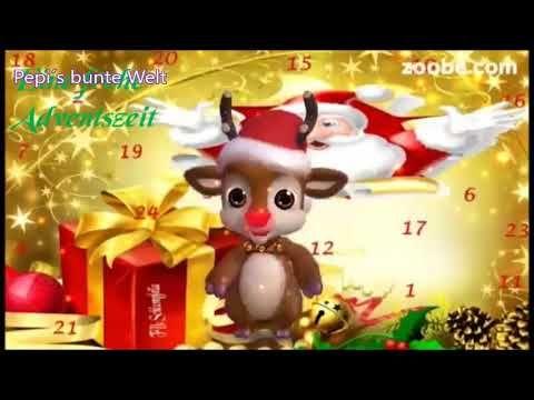 Dezemberschöne AdventszeitWeihnachten, PlätzchenKerzenschein, Tannenduft, Adventskalender - YouTube