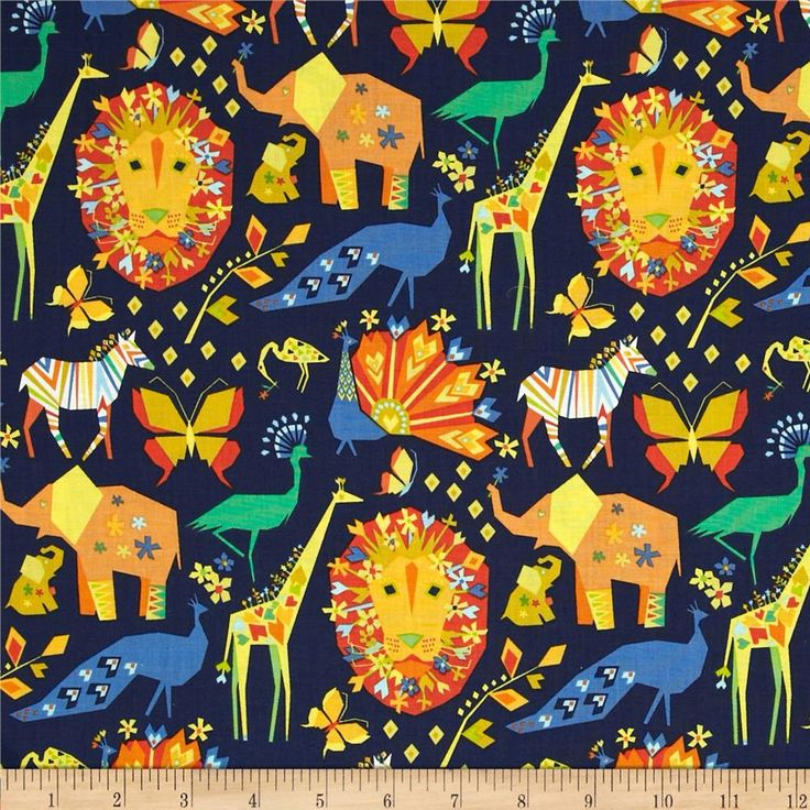 Michael Miller Oragami Oasis Pride Navy from @fabricdotcom  Designed by Tamara Kate for Michael Miller, this cotton print fabric is perfect for quilting, apparel and home decor accents. Colors include orange, white, aqua, blue, green, turquoise and navy.
