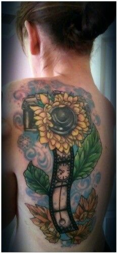 My shoulder tattoo :) I absolutely love it :) Photographs capture moments, freezing them in time even as the seasons change.