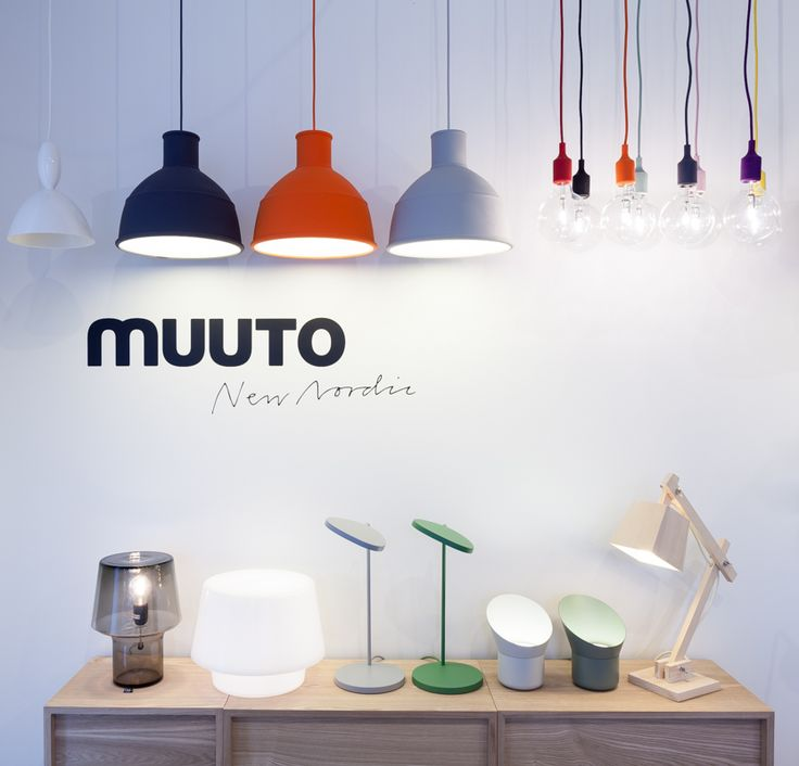 MUUTO Mhy Unfold E27 Cosy In Grey Cosy In White Leaf Lamp Up Lamp
