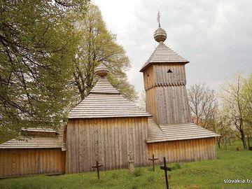 Jedlinka - Kostol Ochrany Presvätej Bohorodičky - Drevené kostoly - Slovakia.travel