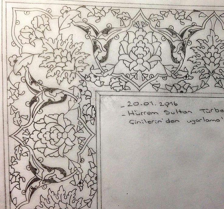 Tezhip motifs