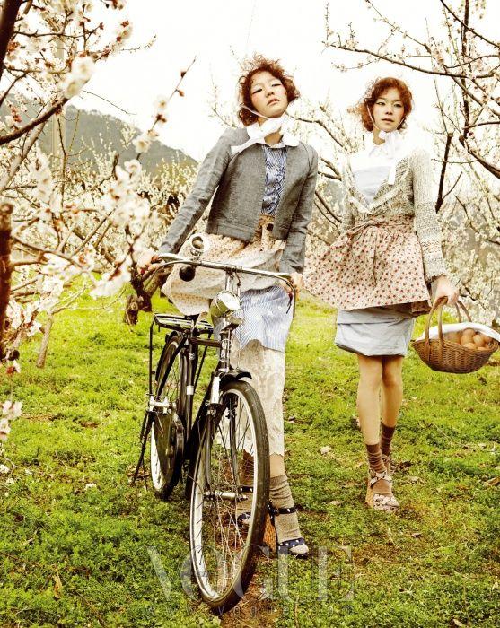 """Country Song"" fashion spread Vogue Korea"