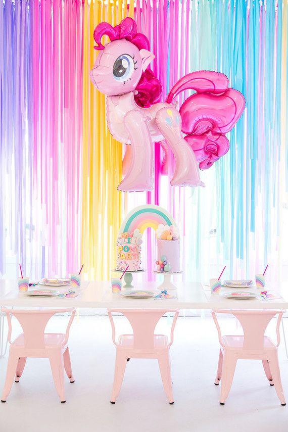 Modern Rainbow My Little Pony Party Mylittlepony