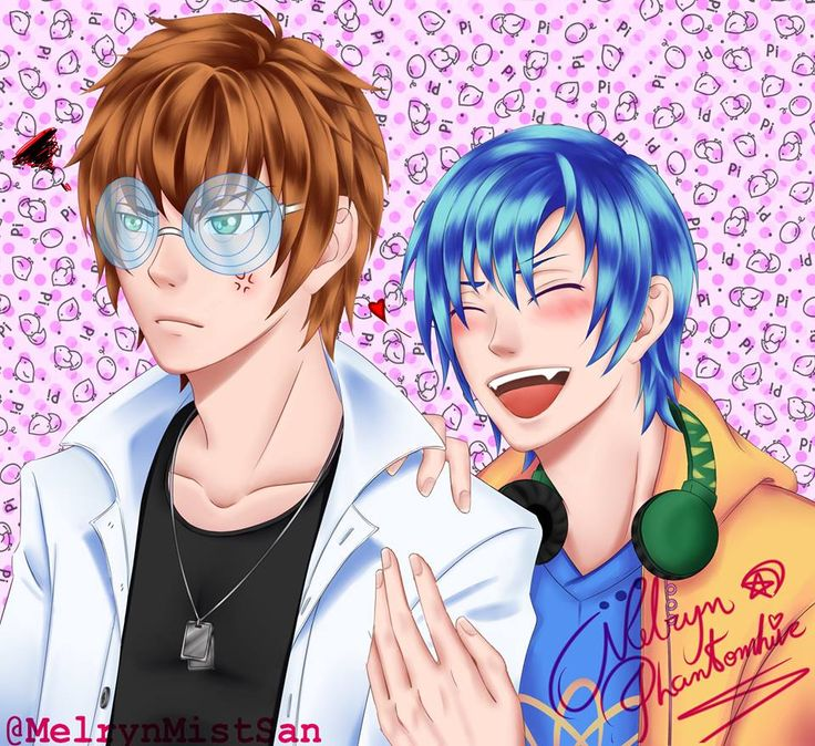 Alexy and Kentin Amor doce / Amour Sucre by MelrynPhantomhive