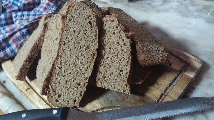 Ekşi mayalı ekmek yapmak için ekşi mayamız artık hazır. Ekşi maya yapılışı için buraya  tıklayınız. Mayamızı buzdolabından çı...