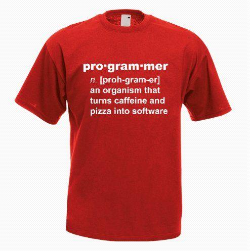 Programmer Funny Definition T-shirt - http://goo.gl/z7A0JS