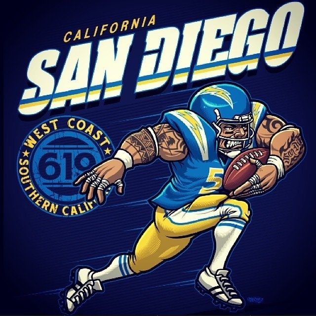 San Diego Chargers Art: 17 Best Ideas About San Diego Chargers On Pinterest