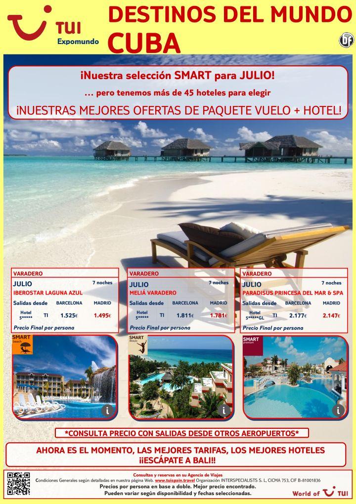 Destinos del mundo vuelo + hotel 7 noches en CUBA salidas en Julio. Precio final desde 1.495€ ultimo minuto - http://zocotours.com/destinos-del-mundo-vuelo-hotel-7-noches-en-cuba-salidas-en-julio-precio-final-desde-1-495e-ultimo-minuto/